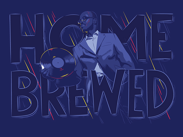 Black Coffee Milestone Illustrations