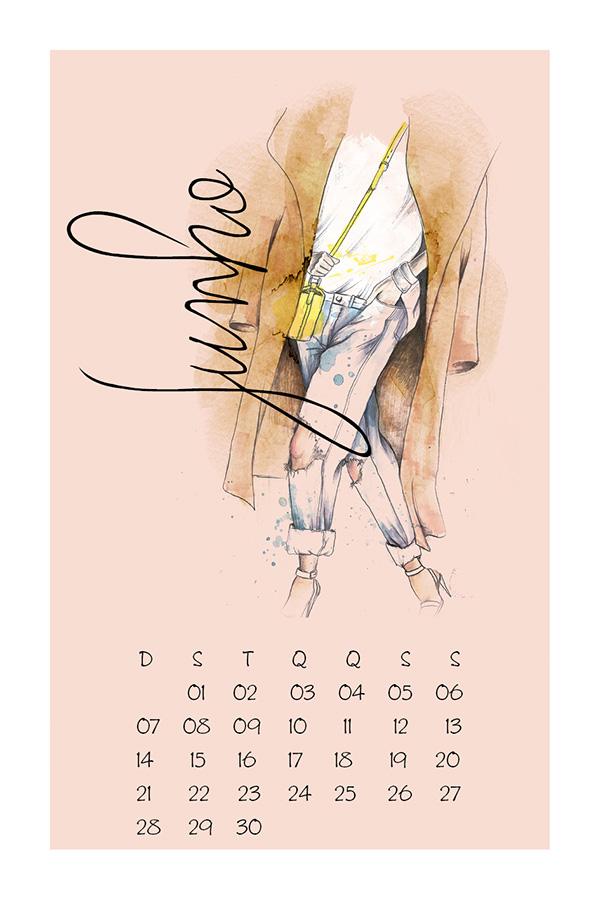 2015 Calendar by Camila Gray