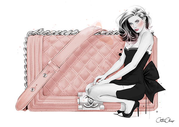 Editorial Illustrations Vol I by Cristina Alonso