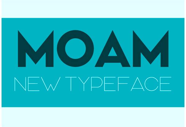 Moam Typeface