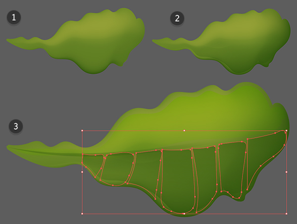 Continue rendering the leaf