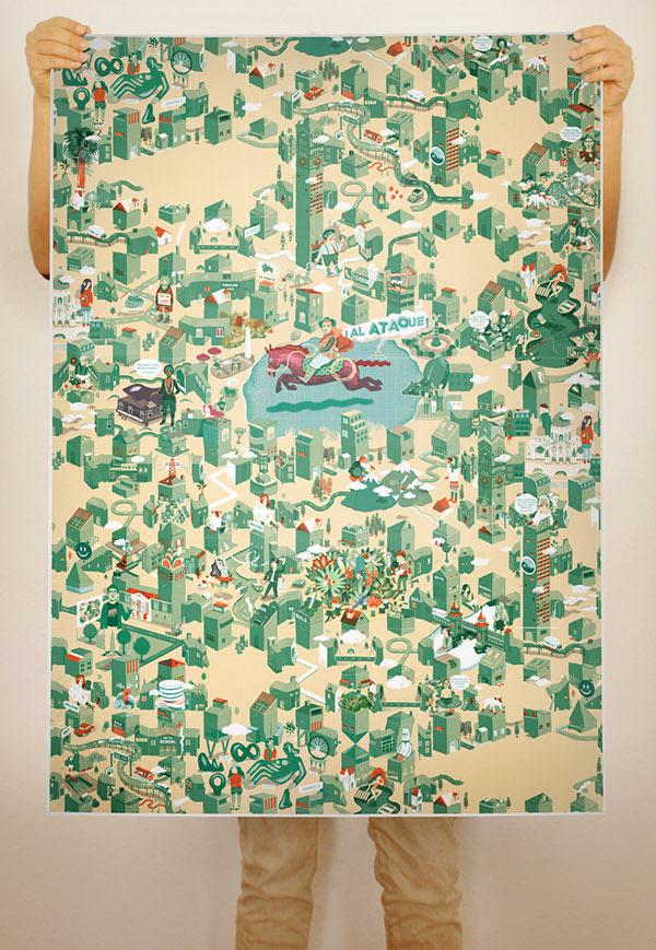 A Maze - Poster