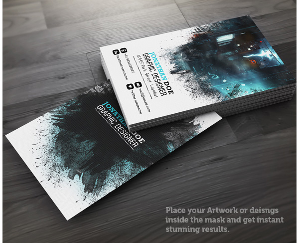 The graphic designers presentation and promotion kit creative designer business card colourmoves
