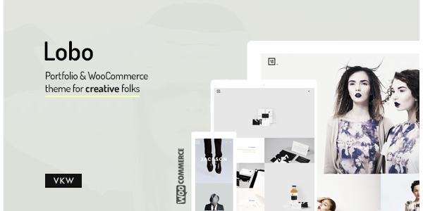 Lobo - Portfolio for Freelancers  Agencies