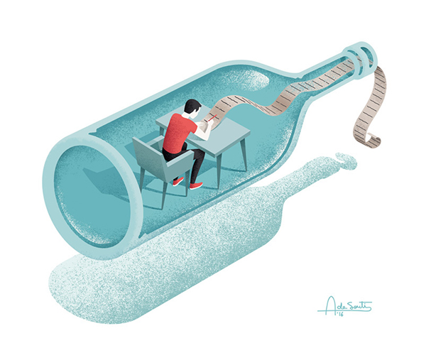 Editorial illustration for Psychologies 4