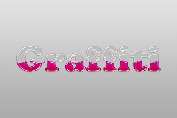 User lestath87 commented with their own version of a liquid-filled glass text effect thanks to a tutorial by Rose