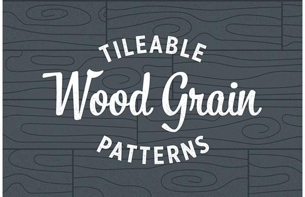 Wood Grain Patterns - Seamless