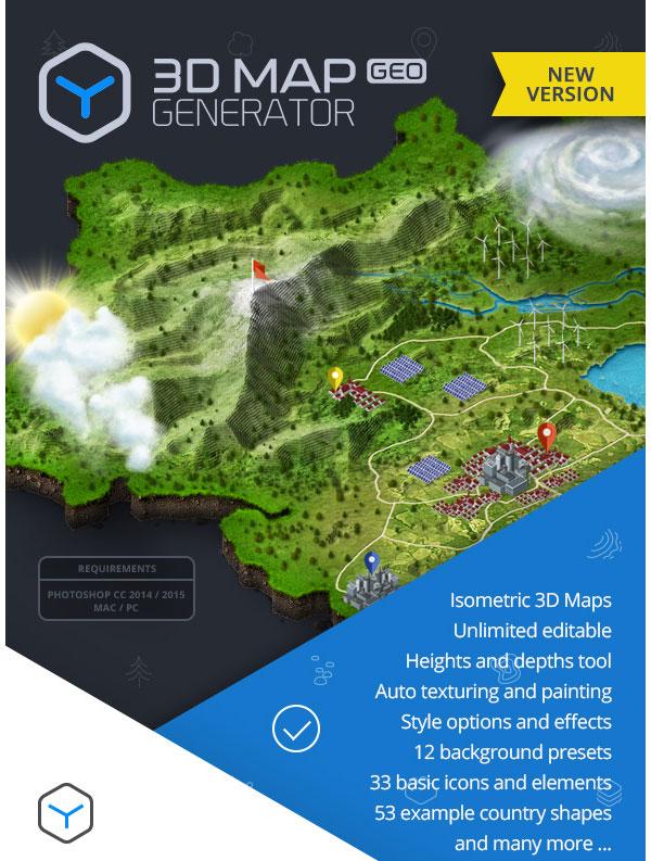 3D Map Generator - GEO