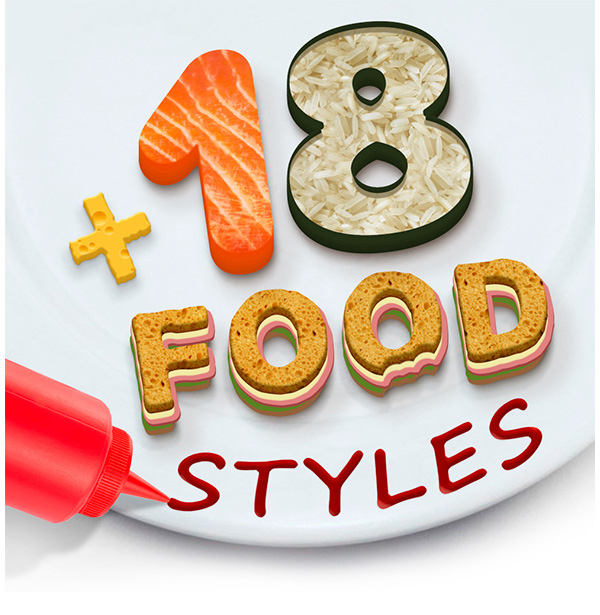18 Food Styles
