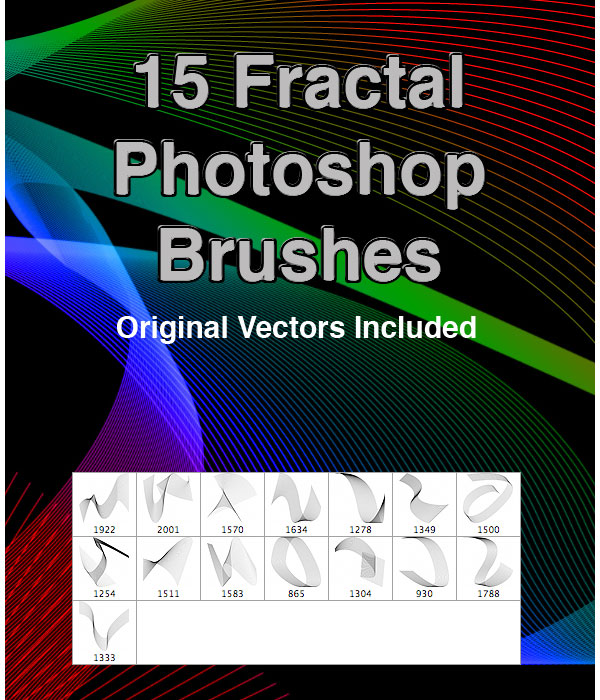 15 Fractal PS Brushes