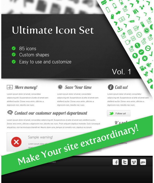 Ultimate Icon Set Vol 1