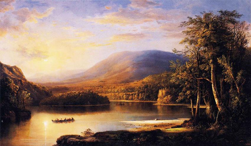 Ellens Isle Loch Katrine 1871