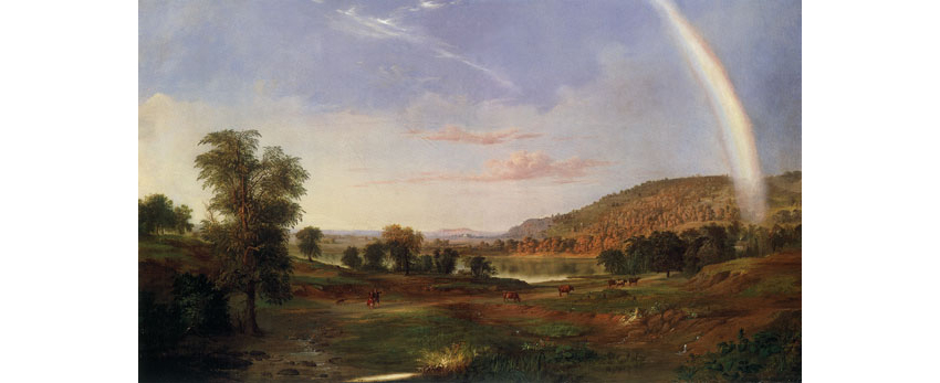 Landscape with Rainbow 1859