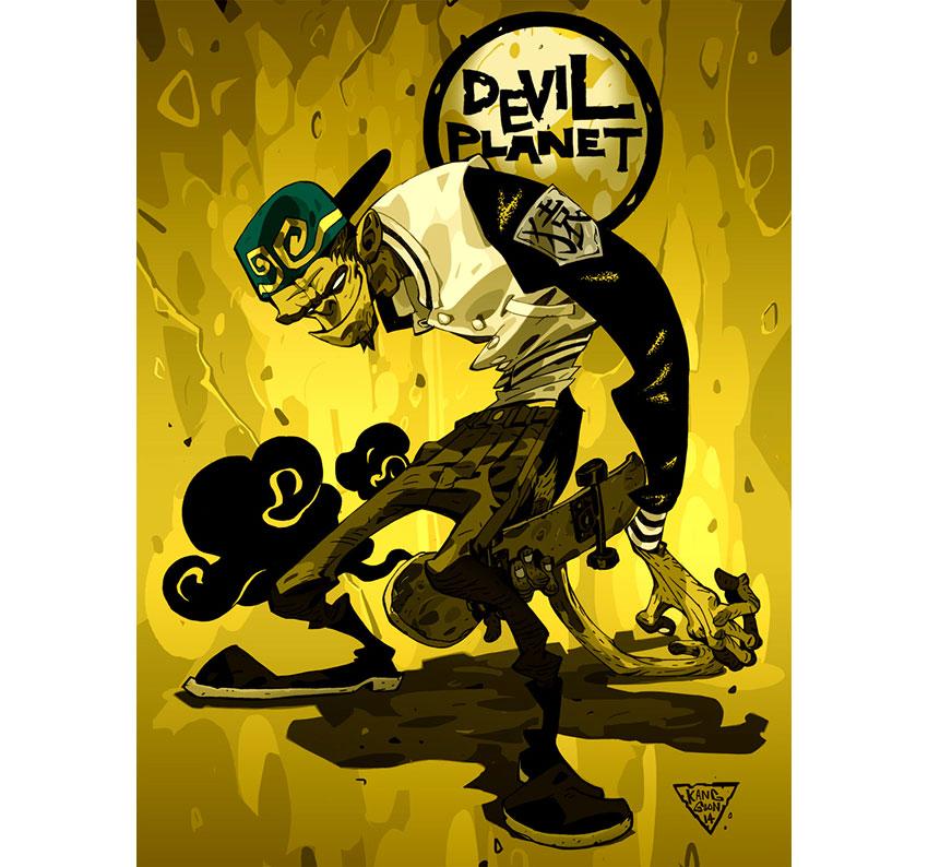 Devil Planet Monkey