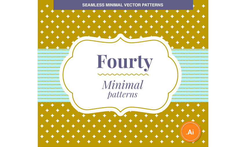 40 Minimal Vector Patterns