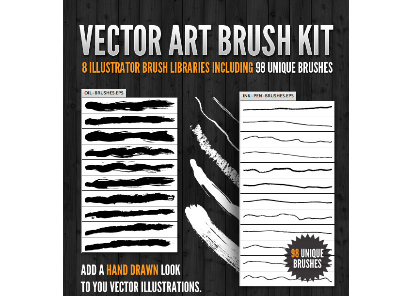 Vector Art Brush Kit