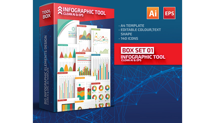 Box Set 01 Infographic Tools Design