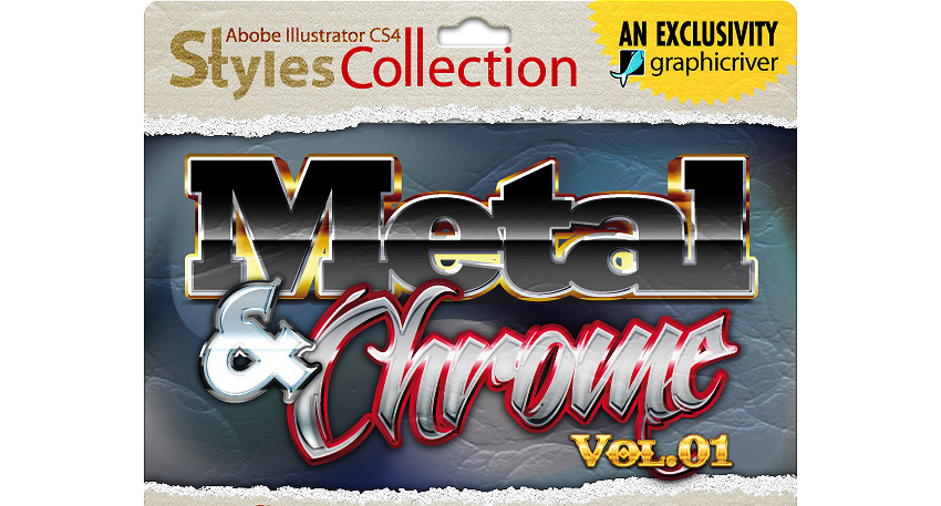AI Styles Collection 02A Metal  Chrome 01