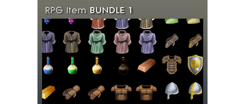 RPG Item Bundle 1
