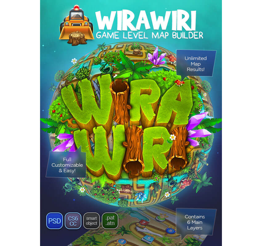 Wirawiri Game Level Map Builder