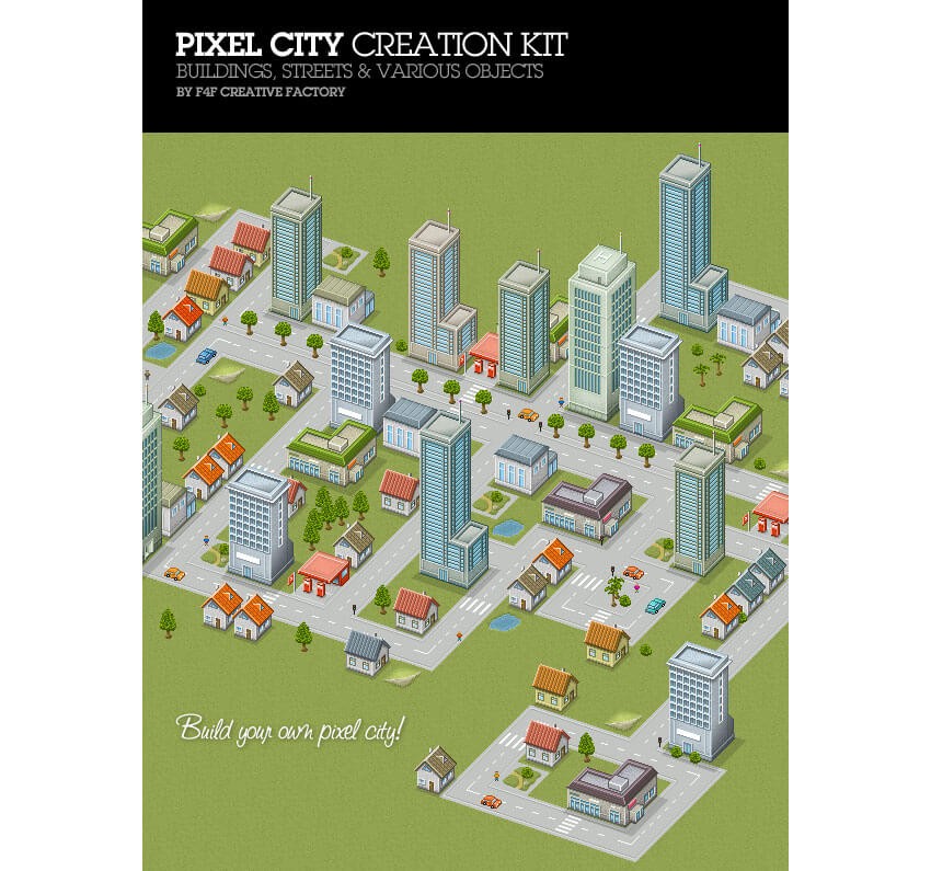 Pixel City Creation Kit