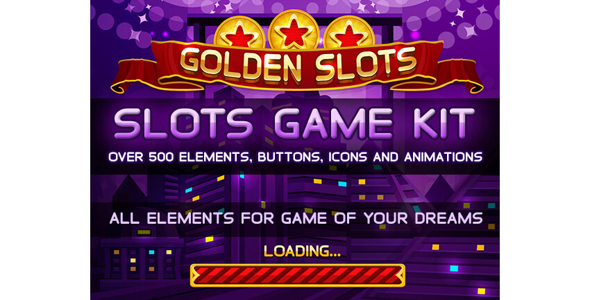 Golden Slots Game Kit