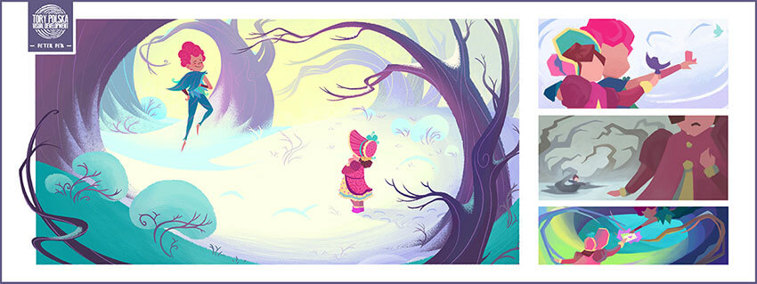 Peter Pan - visual development