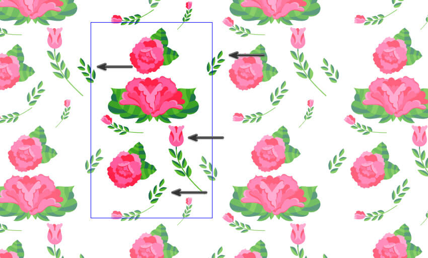how to create a stripes and flowers pattern from scratch in adobe