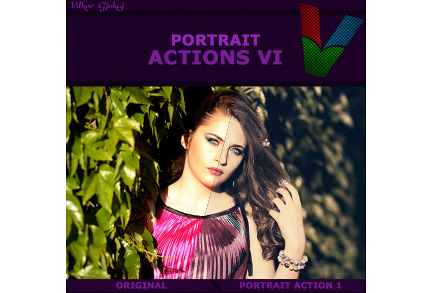 Portrait Actions VI