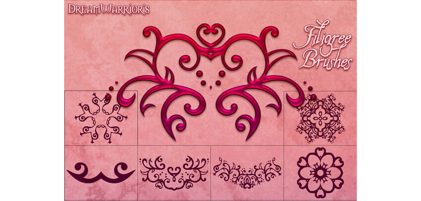 Filigree Brushes 01