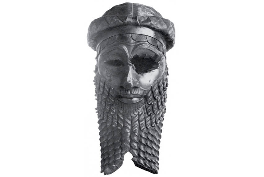 Akkadian king head