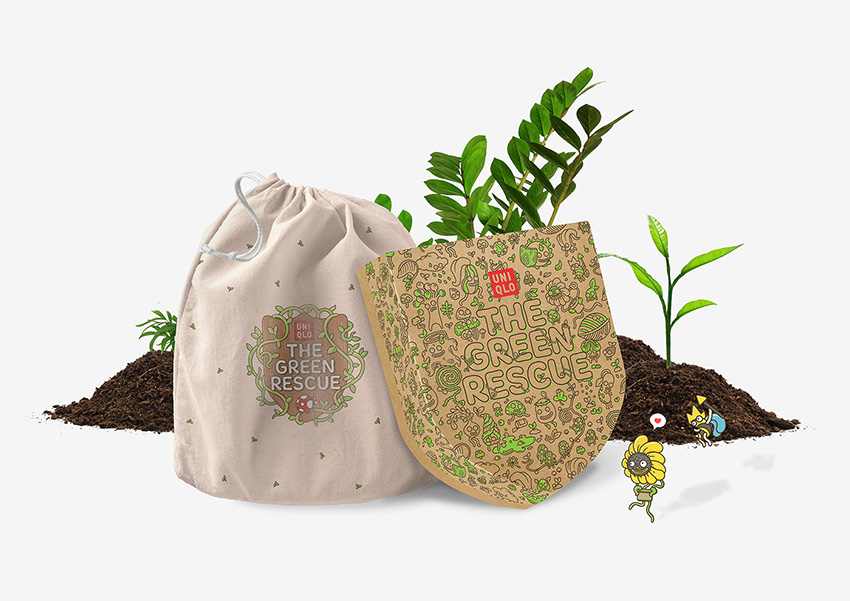 The Green Rescue _ Uniqlo kids Tree Planting Program