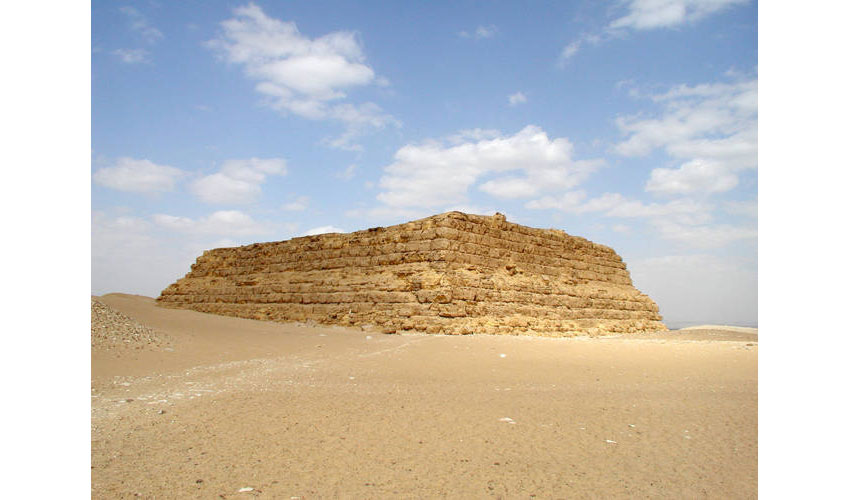 Mastaba example Image by Jon Bodsworth