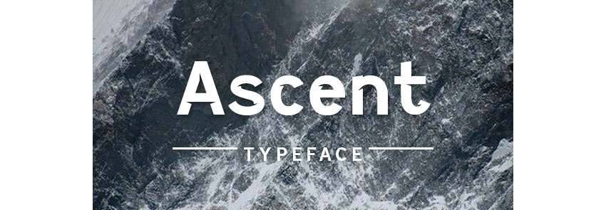 Ascent Typeface