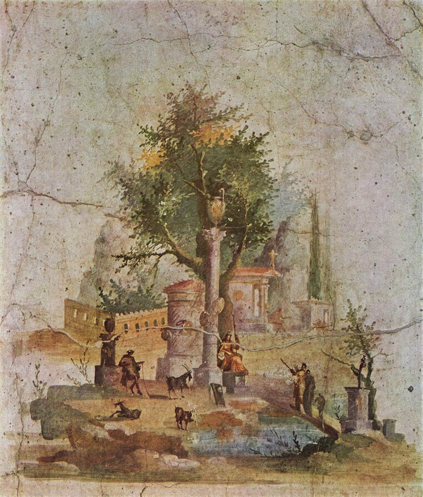 Boscotrecase Pompeii Third style