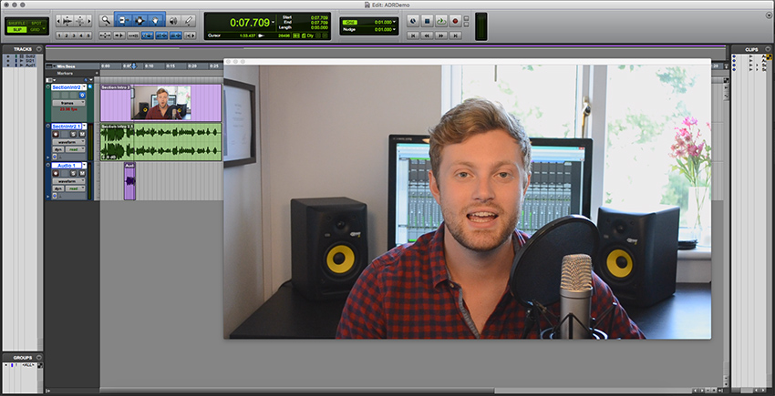 Making the video window larger in Pro Tools