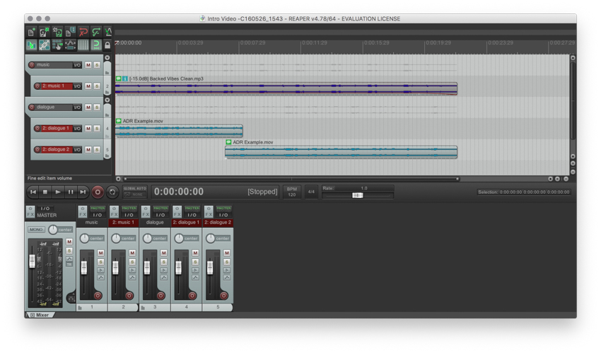 How to Process Audio From Video Projects in Reaper and Other DAWs