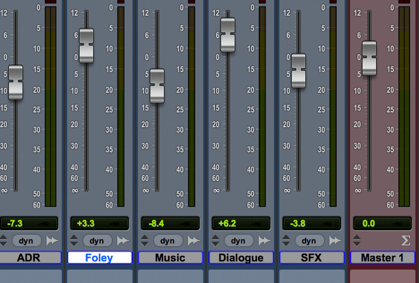 Mixing in Pro Tools
