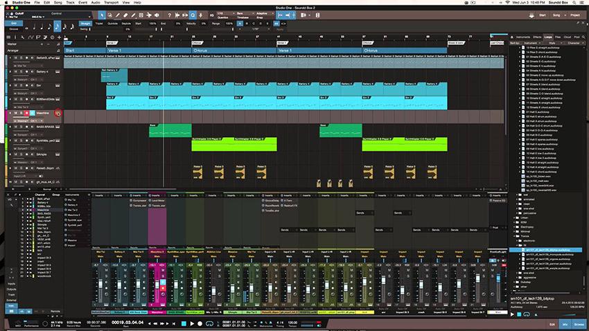 Studio One screenshot