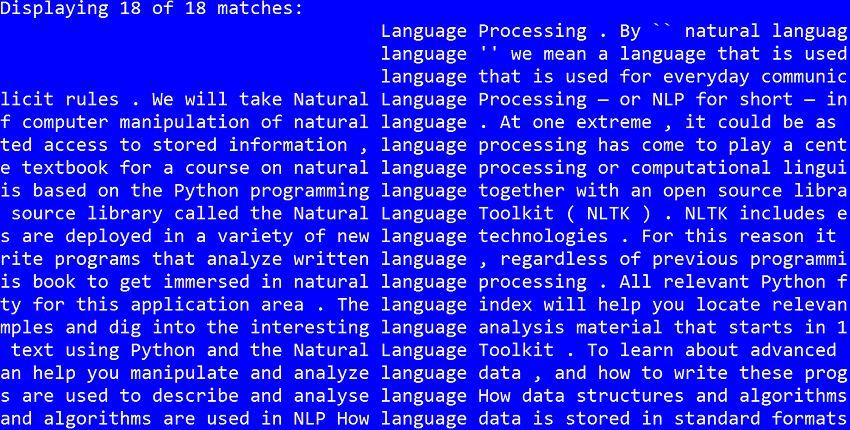 Introducing the Natural Language Toolkit (NLTK)