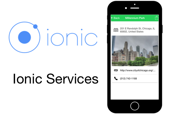 Getting Started With Ionic: Services