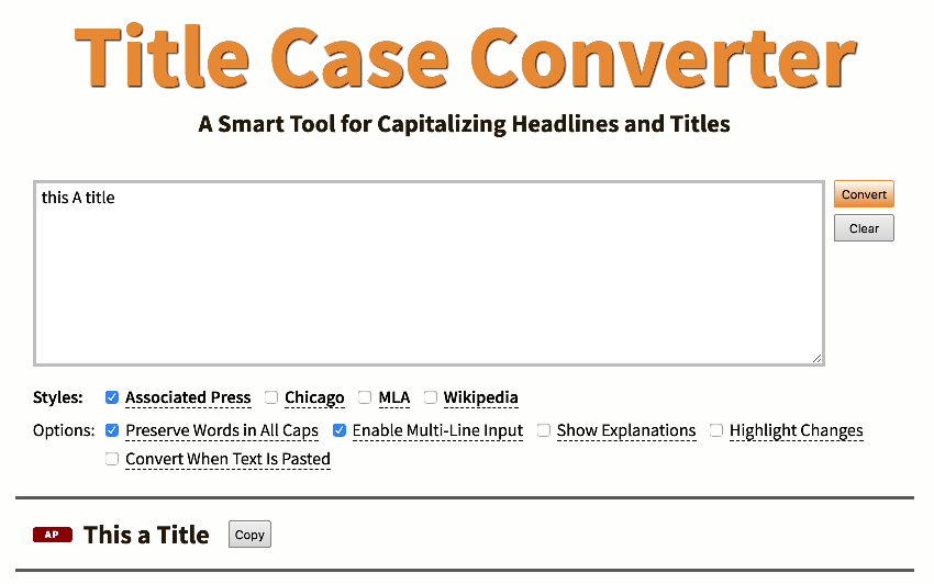The Online Case Converter
