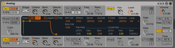 Lead synth patch
