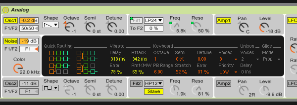 Pad synth patch