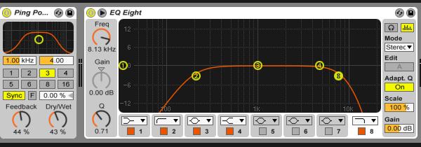 Riser effects chain