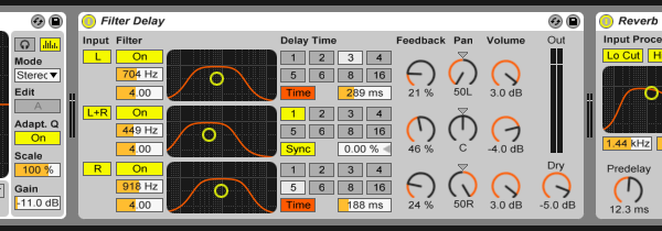 Synths effects