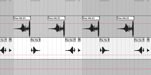 Vocal snippets