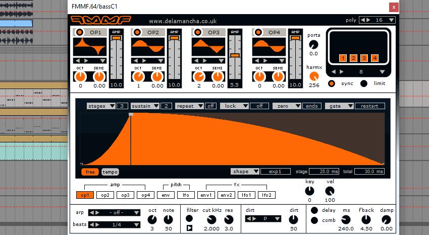 Bass C1 patch