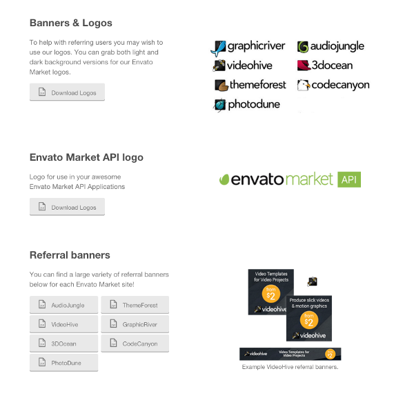 Envato Market Affiliate Resources