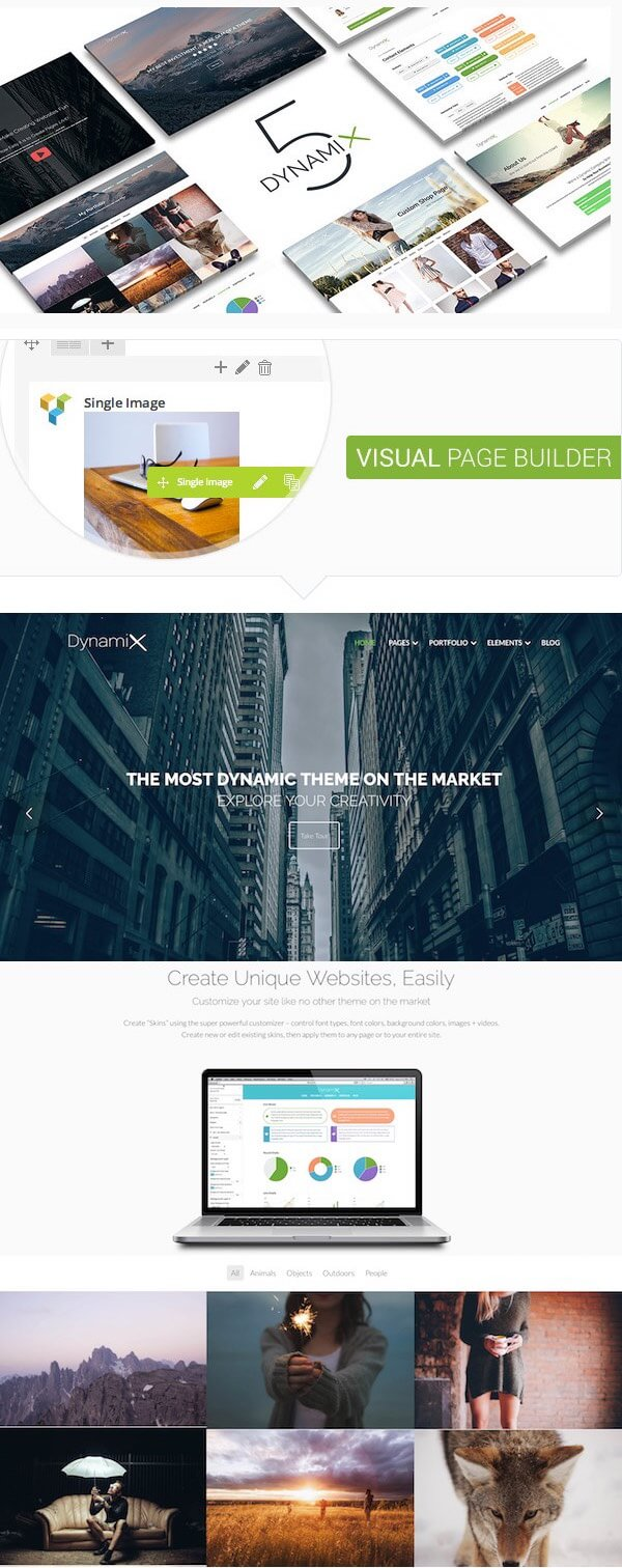 DynamiX Corporate WP Theme